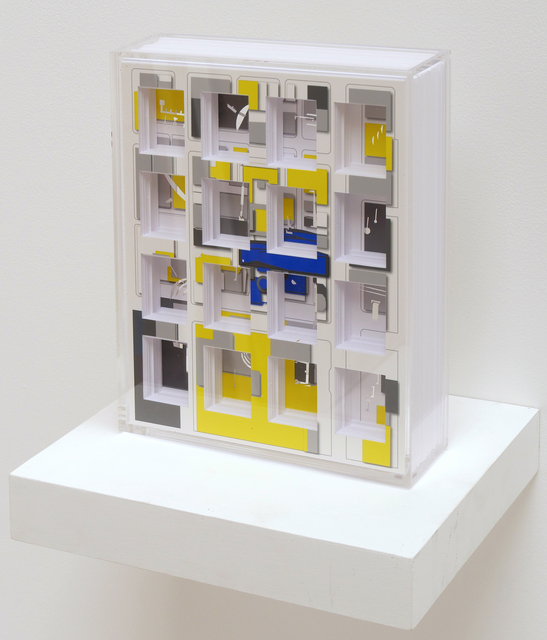 , 'Turner Box, Complete Coverage on SFMOMA zone,' 2018, Hosfelt Gallery
