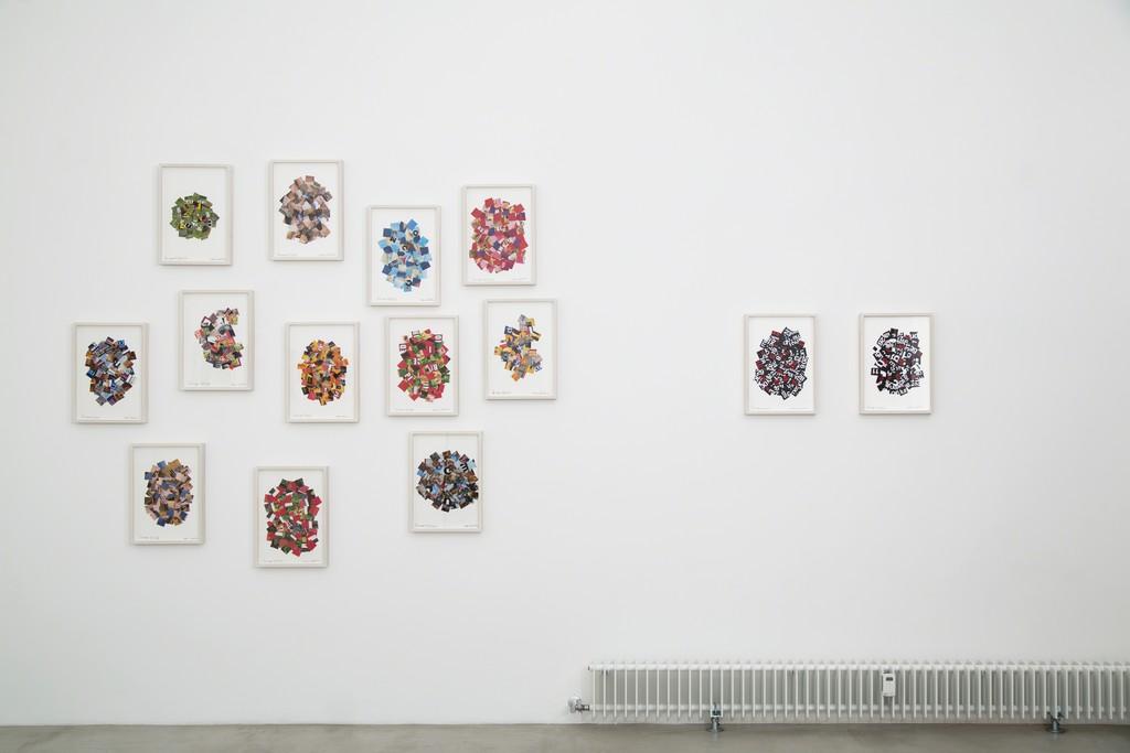 Nanni Balestrini, Periscope, exhibition view