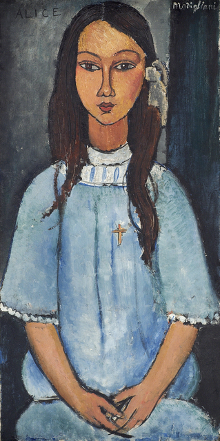 , 'Alice,' ca. 1918, Statens Museum for Kunst