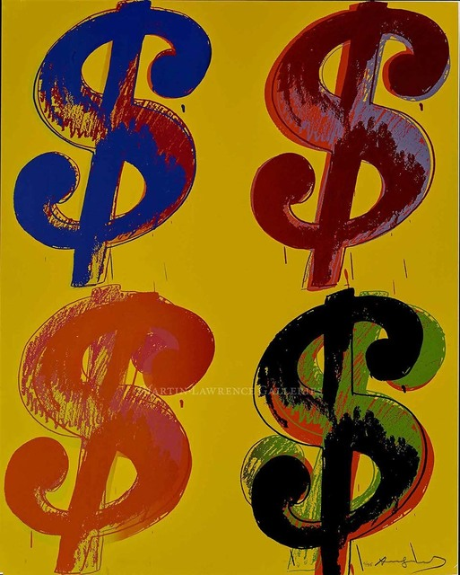 Andy Warhol, '$ (4), 1982 (#281)', 1982, Martin Lawrence Galleries