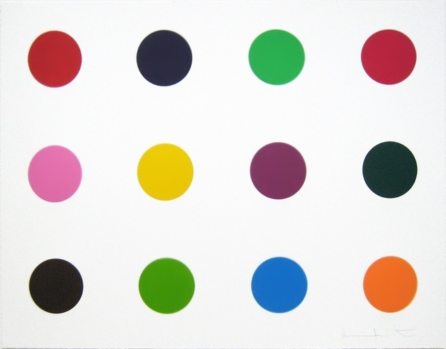 Damien Hirst, 'Methionine (from Woodcut Spots)', 2010, Forum Auctions