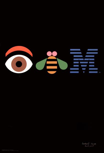 , 'Eye Bee M - IBM Corporation,' 1981, Omnibus Gallery