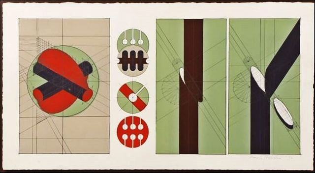 Arnaldo Pomodoro, 'Untitled Geometric Abstraction (Framed) ', 1970, Alpha 137 Gallery