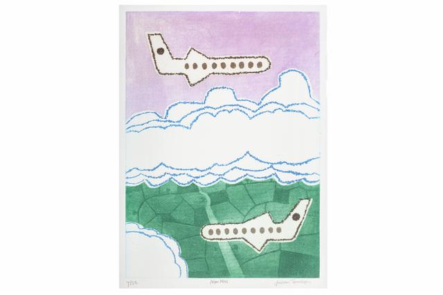 Julian Trevelyan, 'Near Miss', Print, Etching and aquatint, Chiswick Auctions