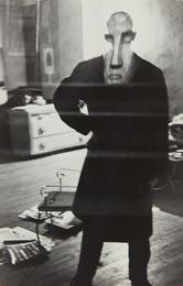 George Barrows in Robert Frank's Loft, New York