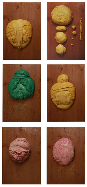 , 'Color Study / Doughface (Group of 6),' 2010, Galerie Laurent Godin