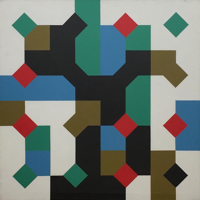 Bruno Munari, 'Colori nella curva di Peano', 1995, Manfredi Style