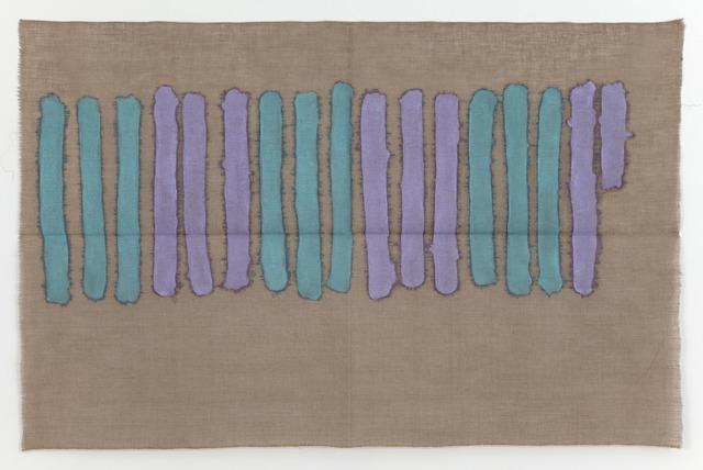 , 'Verticale verde e viola,' 1977, Casey Kaplan