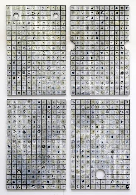 , 'Omnium Gatherum (39-42),' 2018, Jonathan Smart Gallery