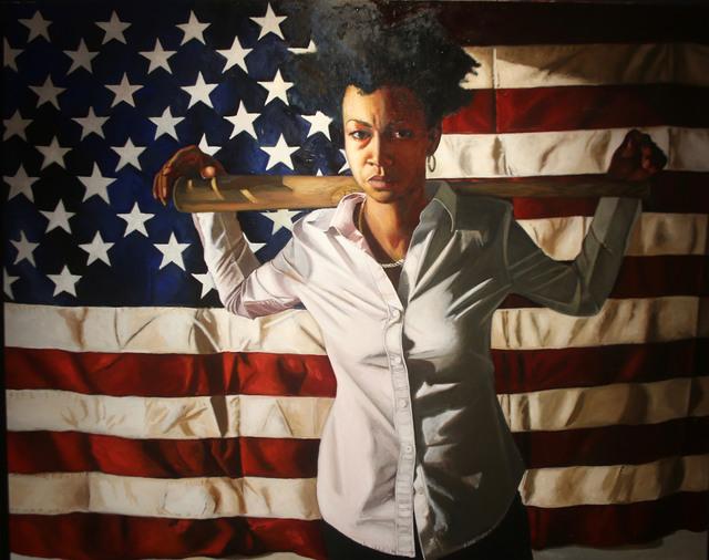 , 'American Woman: Columbia,' 2018, N'Namdi Contemporary Art Center