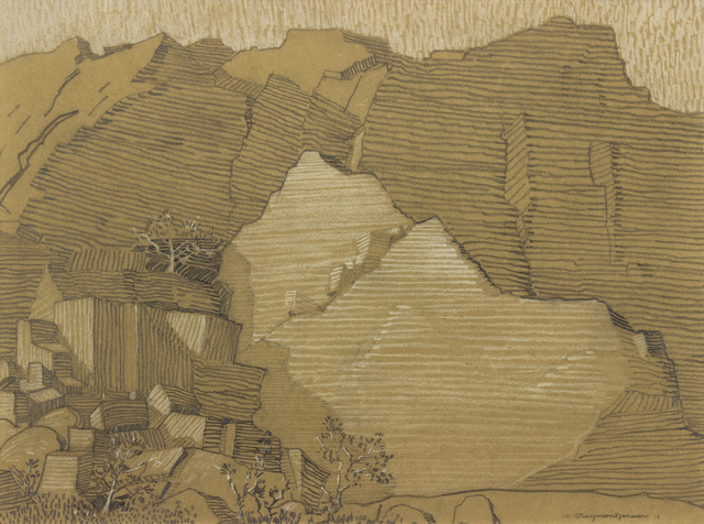 , 'Rock Cliff,' 1918, Addison Rowe Gallery