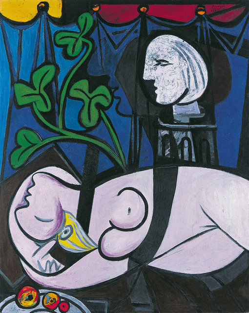 Pablo Picasso, 'Nude, Green Leaves and Bust', 1932, Tate