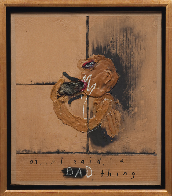 , 'Oh... I said a bad thing,' 2009, At The Gallery