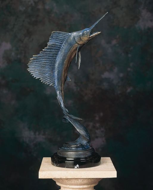 , 'Sailfish Maquette,' , Geoffrey C. Smith Galleries