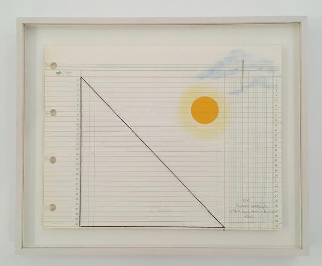 , 'Domestic Landscape with tumeric and needle, #11,' 2015, Travesia Cuatro