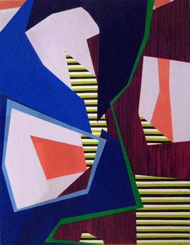 Laura Mosquera, 'Blue Triple Spin Green Split', 2013, TAG ARTS