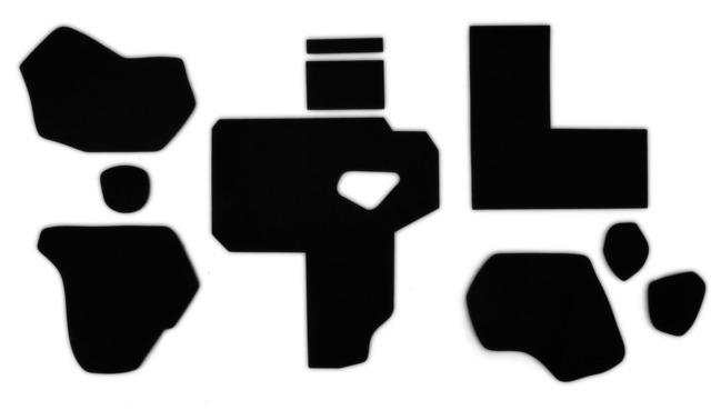 , 'Black Atlas 1,' 2014, Make Your Mark