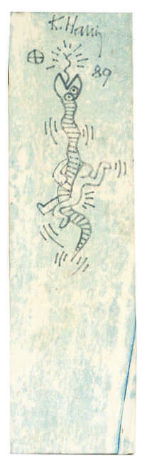 Keith Haring, 'Untitled (Snake)', 1989, Digard Auction