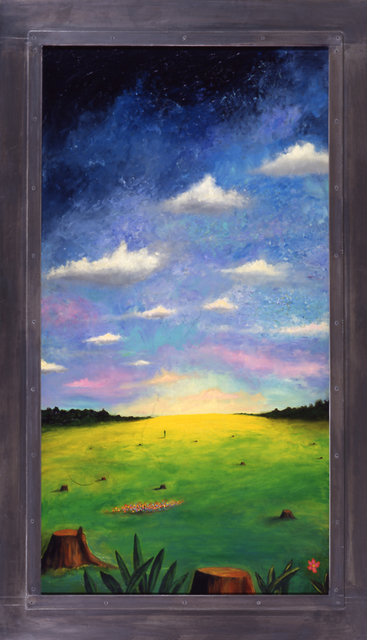, 'Man in Greener Pastures,' 1994, Nohra Haime Gallery
