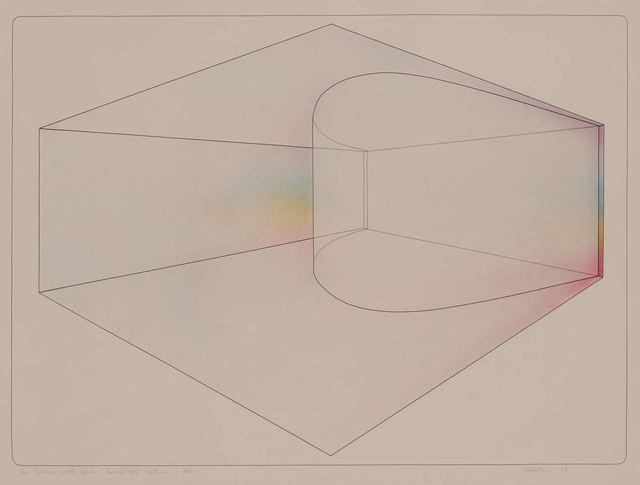 De Wain Valentine, 'CURVED WALL--SPECTRUM', 1974, Doyle