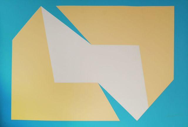 Charles Hinman, 'Untitled from Album No.1', 1974, Print, Screenprint in colours with embossing, Roseberys