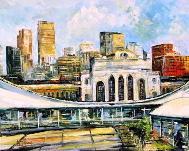 , 'Union Station di Giorno,' 2014, Bitfactory Gallery