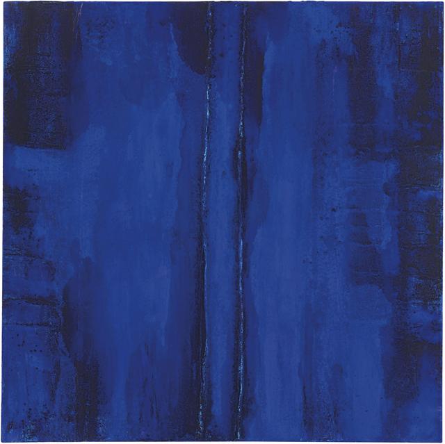 , 'Blu Eden,' 2014, UNIX Gallery