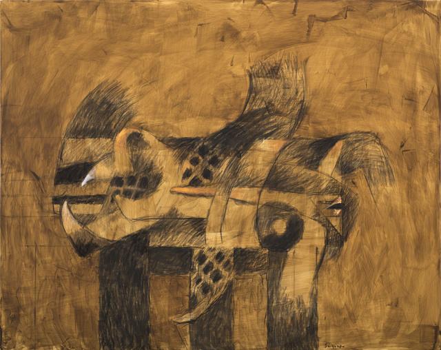 , 'Mesa Ritual,' 2017, Durban Segnini Gallery