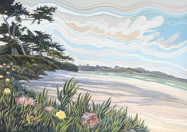 , 'Carmel Beach,' , Stremmel Gallery