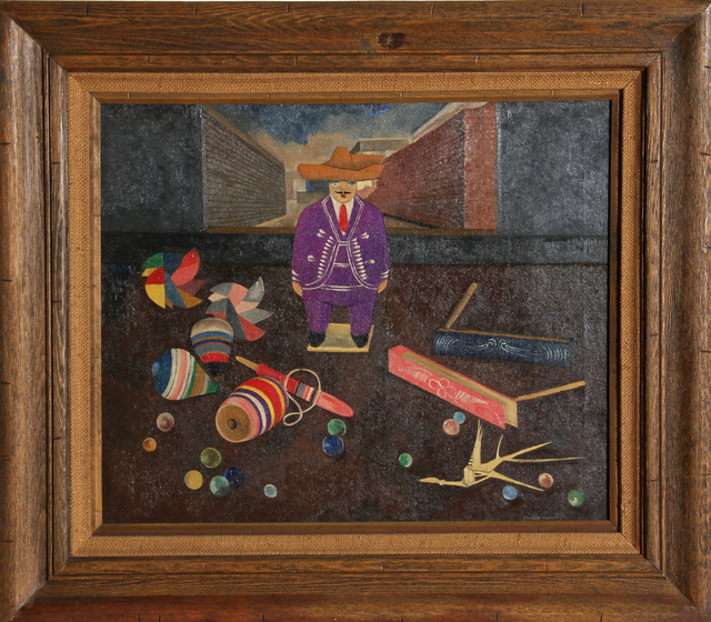 , 'Man with Toys,' ca. 1962, RoGallery