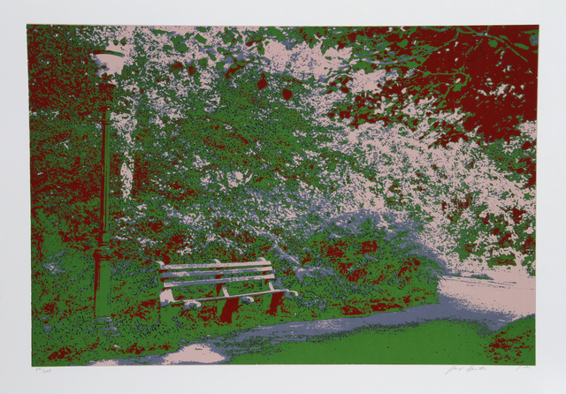 Max Epstein, 'Bench in the Park', 1980, RoGallery