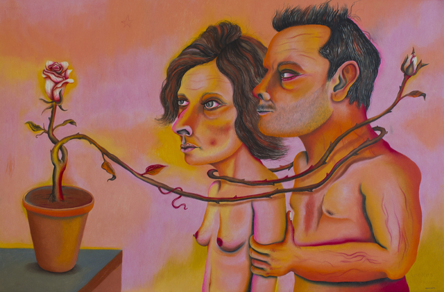 , 'Naked lovers,' 2014, Cuban Contemporary