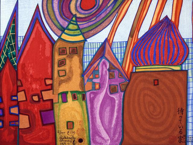 , 'Waiting Houses,' 1969, Pucker Gallery
