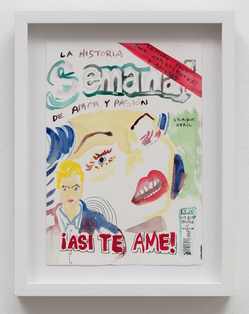 , 'El Historia Semanal: ¡Asi te Ame!,' 2019, Klowden Mann