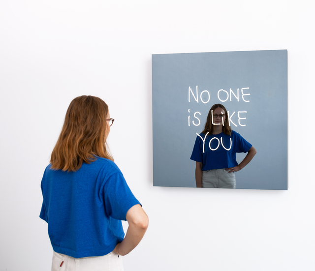 , 'NO ONE IS LIKE YOU (handwritten),' 2018, Galleri Nicolai Wallner
