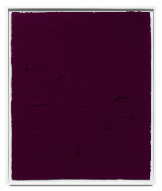 Jason Martin, 'Pure magenta V', 2018, STPI