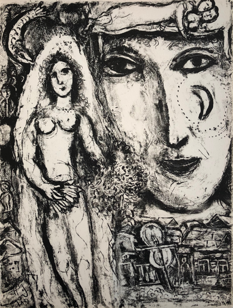 Marc Chagall, 'Le Cirque M. 507', 1967, Print, Original Lithograph on Velin d'Arches Wove Paper, Galerie d'Orsay
