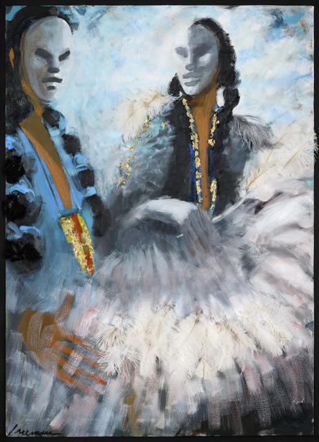 , 'Golden Pendant,' 2017, Adelson Galleries