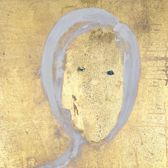 , 'Gesicht (Goldgrundige, Zweigesicht),' 2018, Galerie Valentien