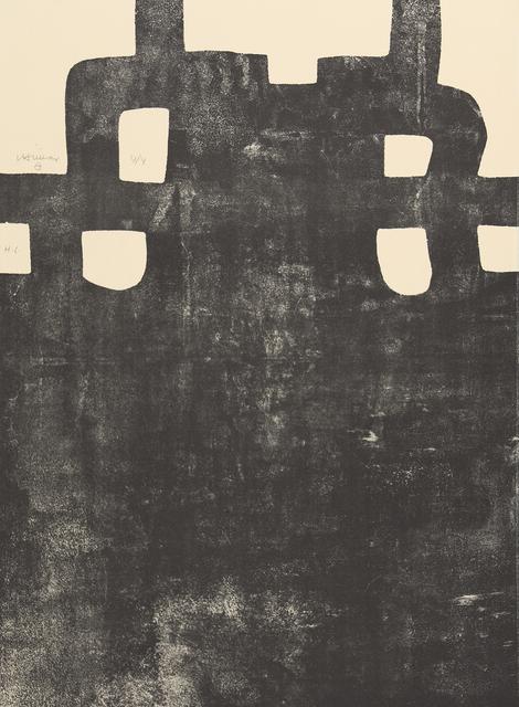 Eduardo Chillida, 'Gurutze Gorria III', 1984, Galerie Raphael