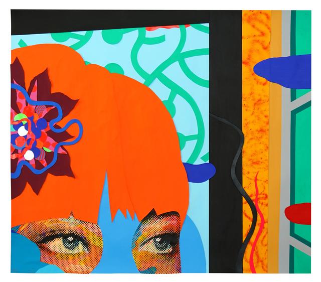 , 'Paper Cut 3,' 2018, Allouche Gallery