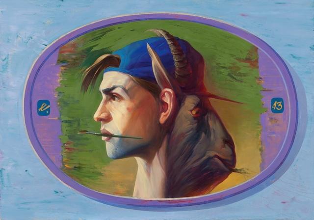 , 'Stranger in blue hat,' 2013, Regina Gallery