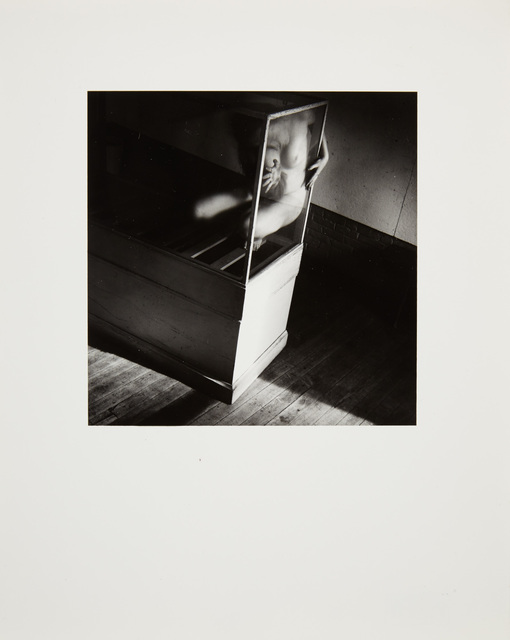 Francesca Woodman, 'Group of three gelatin silver prints; Each Untitled [Providence, Rhode Island]', 1970s, Doyle
