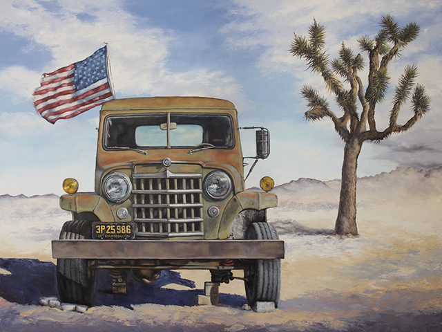 , 'Willy's All American,' , Joshua Tree Art Gallery