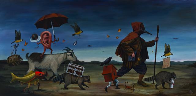 , 'The Last Frontier,' 2017, Galerie Matthew Namour