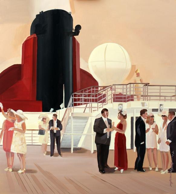 , 'Party on a ship,' 2017, Gallery Katarzyna Napiorkowska | Warsaw & Brussels