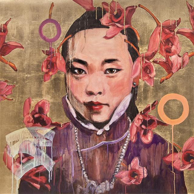 , 'Red Flowers,' 2016, Turner Carroll Gallery