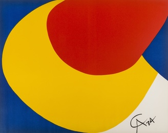 Alexander Calder, 'Skyswirl, Beastie, Convection,' 1974, Forum Auctions: Editions and Works on Paper (March 2017)