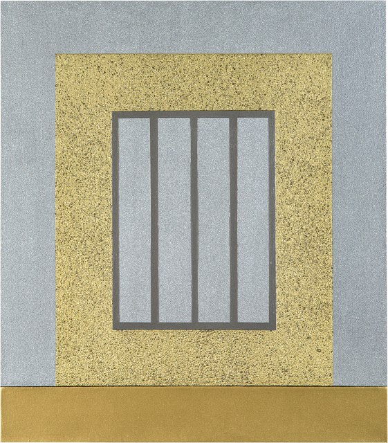 Peter Halley, 'Gold Prison', 1999, Kantor Gallery