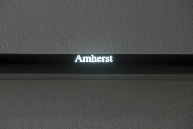 , 'Amherst/Ether/Fields (detail),' 2013, Francesca Minini